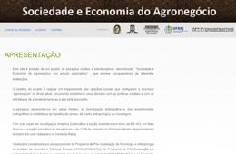 Sociedade e Economia do Agronegócio