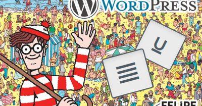 WordPress 4.7: como voltar com o botão de justificar texto